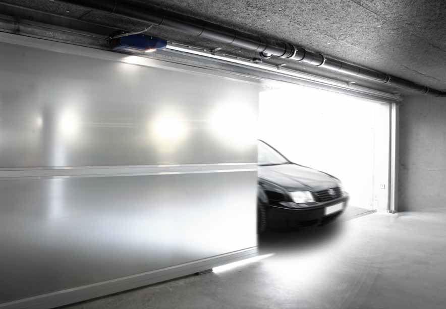 نصب درب ریلی پارکینگ