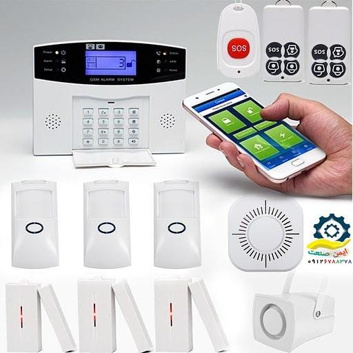 دزدگیر کنترل از موبایل
