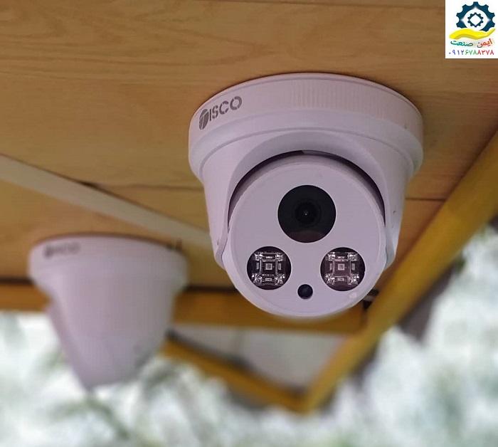دوربین مداربسته روی سقف