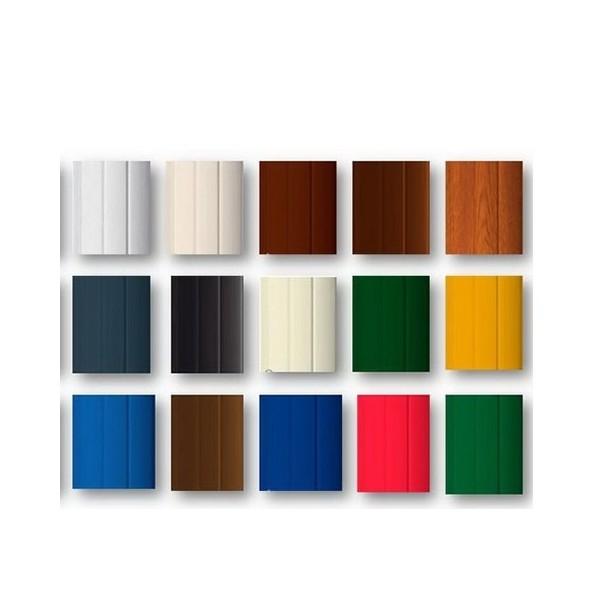 تیغه رنگی 8 وزن استاندارد کرکره برقی